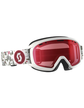 Scott Junior Witty Goggle - White Pink with Light Amp Lens