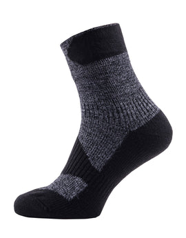 SealSkinz Walking Thin Ankle Sock - Dark Grey