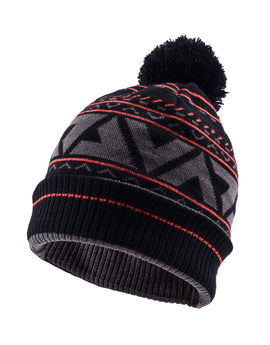 SealSkinz Waterproof MTB Bobble Hat - Black