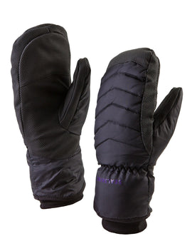 SealSkinz Womens Sub Zero Mitten - Black