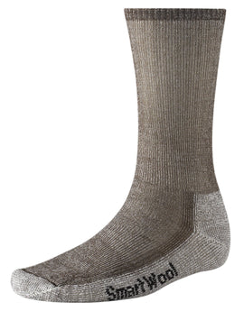 SmartWool Mens Hiking Medium Crew Sock - Dark Brown