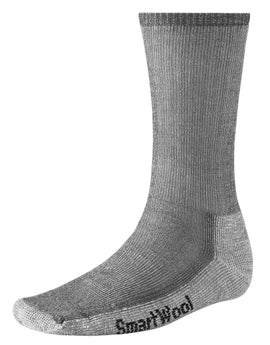 SmartWool Mens Hiking Medium Crew Sock - Gray