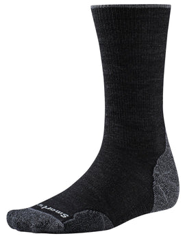 SmartWool Mens PhD Outdoor Light Crew Sock - Charcoal