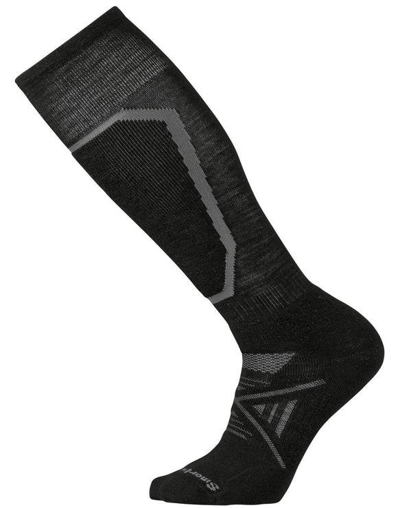 SmartWool Mens PhD Ski Medium Sock - Black