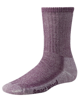 SmartWool Womens Hiking Medium Crew Sock - Dark Cassis
