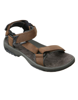Teva Mens Terra Fi Lite Leather Sandal - Brown