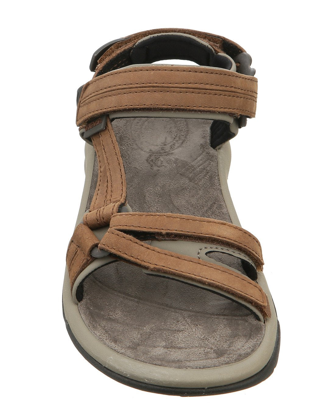 473de142f ... Teva Womens Terra Fi Lite Leather Sandal - Brown ...