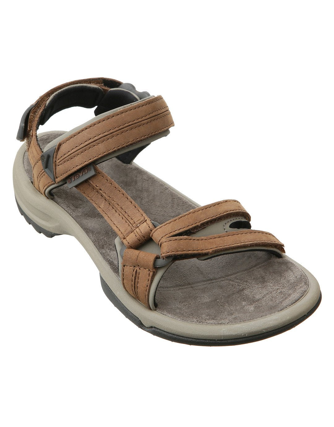 e7ed4b1fb48fbc Teva Womens Terra Fi Lite Leather Sandal - Brown