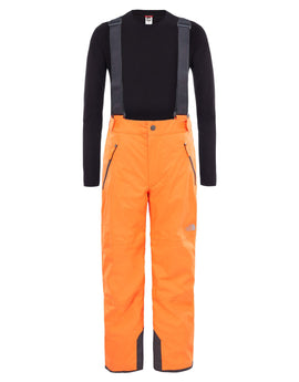 The North Face Kids Snowquest Pant - Power Orange