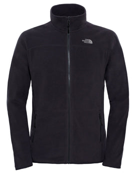 The North Face Mens 100 Glacier Full Zip Fleece - TNF Black