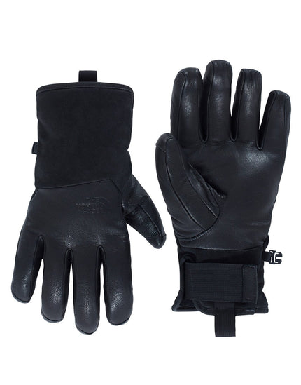 The North Face Mens Leather II Solo Glove - TNF Black