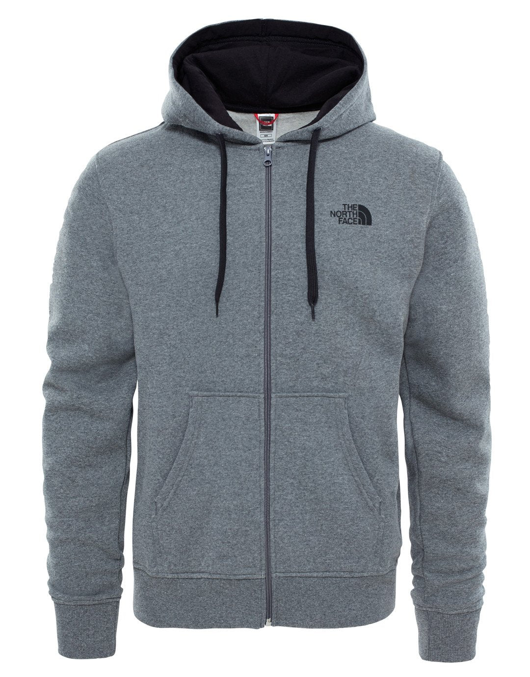 6181cbd47 Mens Open Gate FZ Hoodie - TNF Medium Grey