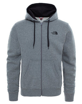 The North Face Mens Open Gate FZ Hoodie - TNF Medium Grey