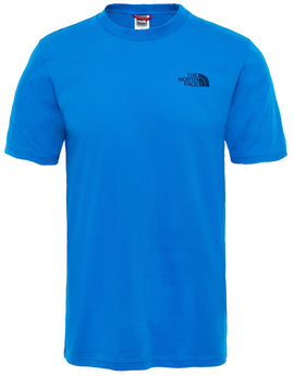 The North Face Mens SS Simple Dome Tee - Bomber Blue