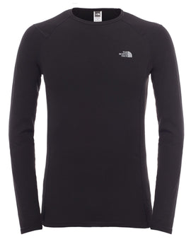 The North Face Mens Warm Long Sleeve Crew Neck - TNF Black