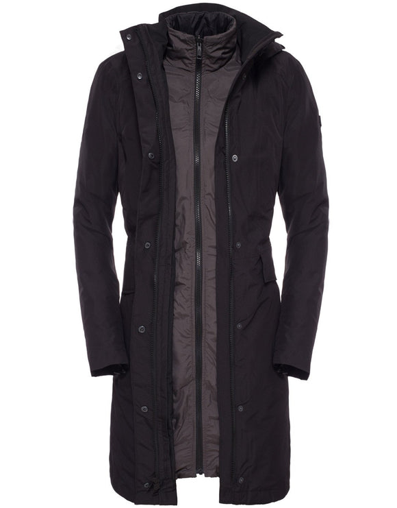 The North Face Womens Suzanne Triclimate Trench - TNF Black