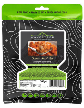 Wayfayrer Chicken Tikka Masala and Rice Meal Pouch
