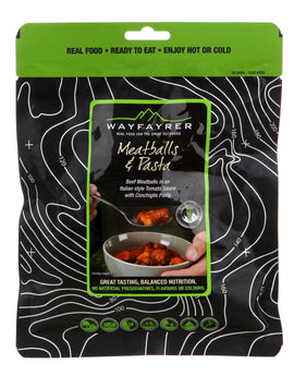 Wayfayrer Meatballs and Pasta Meal Pouch