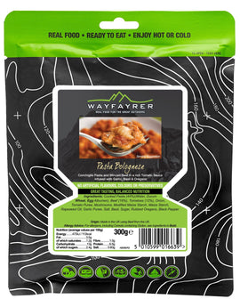 Wayfayrer Pasta and Bolognese Meal Pouch