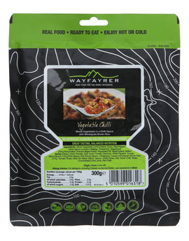 Wayfayrer Vegetable Chilli Meal Pouch