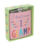 Secret Glamper Hip Flask - Pink