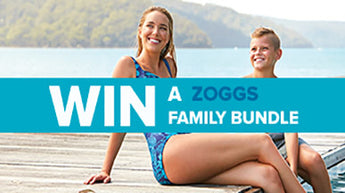 Win a family swimwear bundle with Zoggs