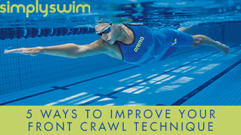 5 Ways To Improve Your Front Crawl Technique