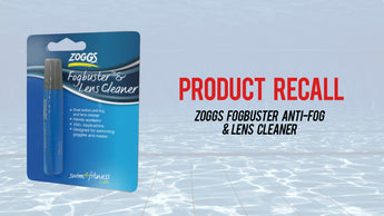 PRODUCT RECALL - Zoggs Fogbuster Anti-Fog & Lens Cleaner