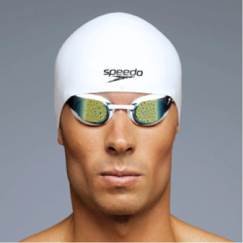 Speedo Fastskin 3 Goggle Mirrored White Male