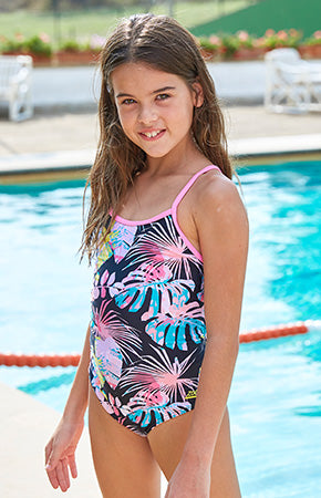adidas swimming costume junior