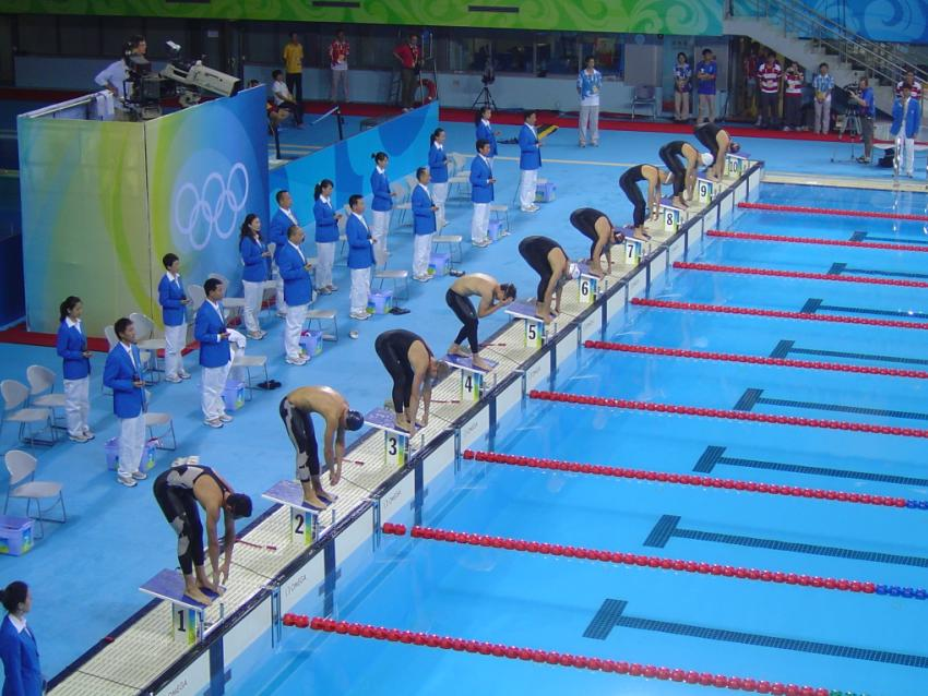 2008_Olympic_Modern_penthalton_-_swimming_action