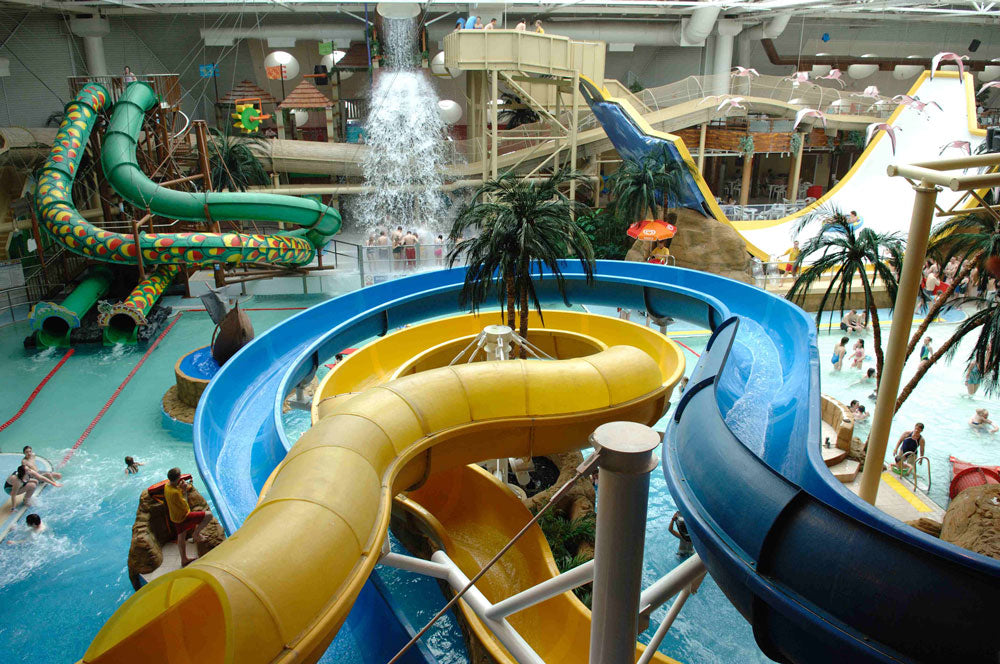The top 5 uk water parks simply swim uk - London swimming pools with slides ...