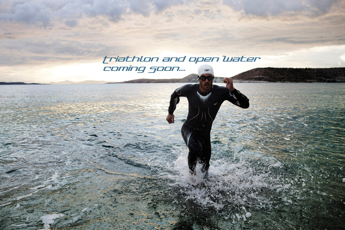 Triathlon and open water swimwear