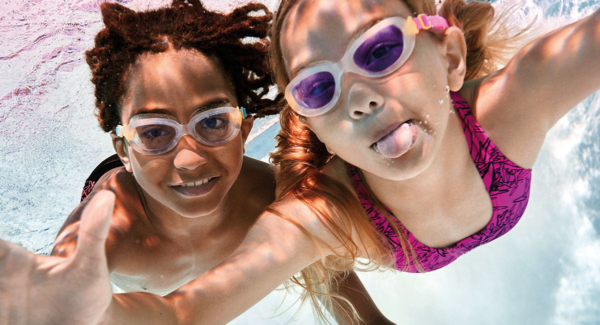 Goggles Simply Swim Children Underwater
