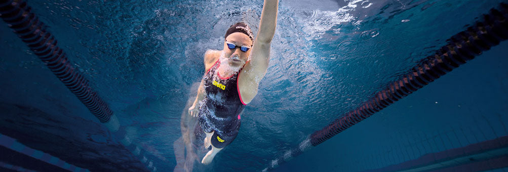 Racing Suits Simply Swim Underwater Female Front Crawl