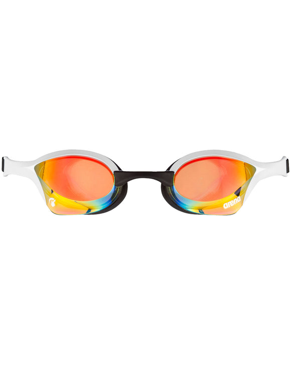 Arena Cobra Ultra Swipe Mirror Goggle - Copper/White