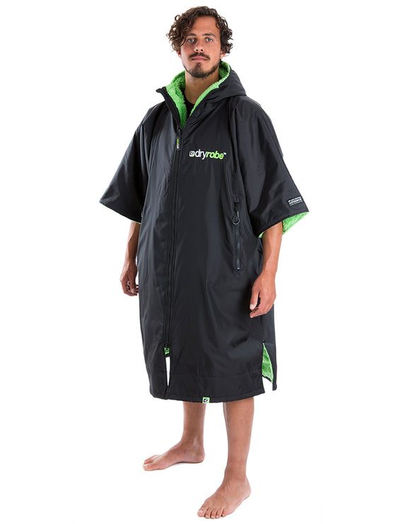 Dryrobe Advance Dryrobe - Adult - Black and Green