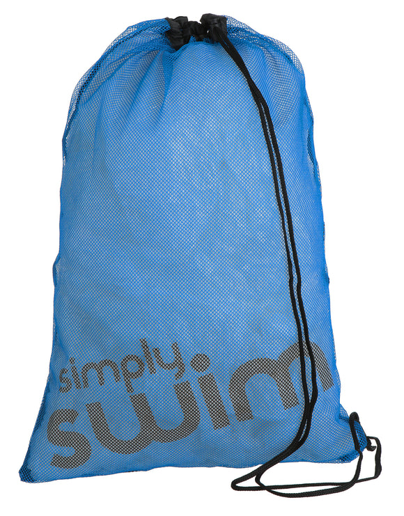 Simply Swim Swim Mesh Bag - Blue