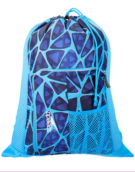 Speedo Deluxe Ventilator Mesh Bag - Cage Blue