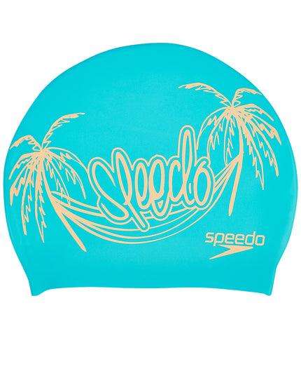 Speedo Slogan Print Cap - Palm