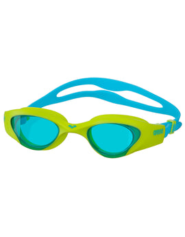 Arena The One Junior Goggle - Light Blue/Lime