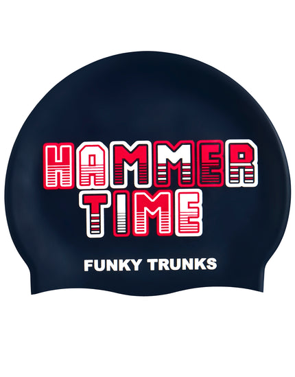 Funky Trunks Hammer Time Silicone Swim Cap