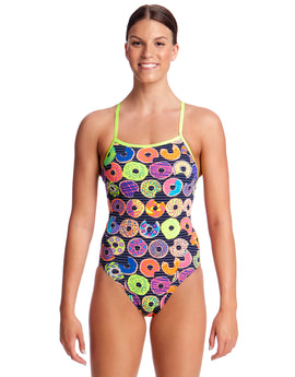 Funkita Dunking Donuts Single Strap Swimsuit