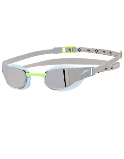 Speedo Fastskin Elite Mirror Goggle - Oxid Grey and Chrome