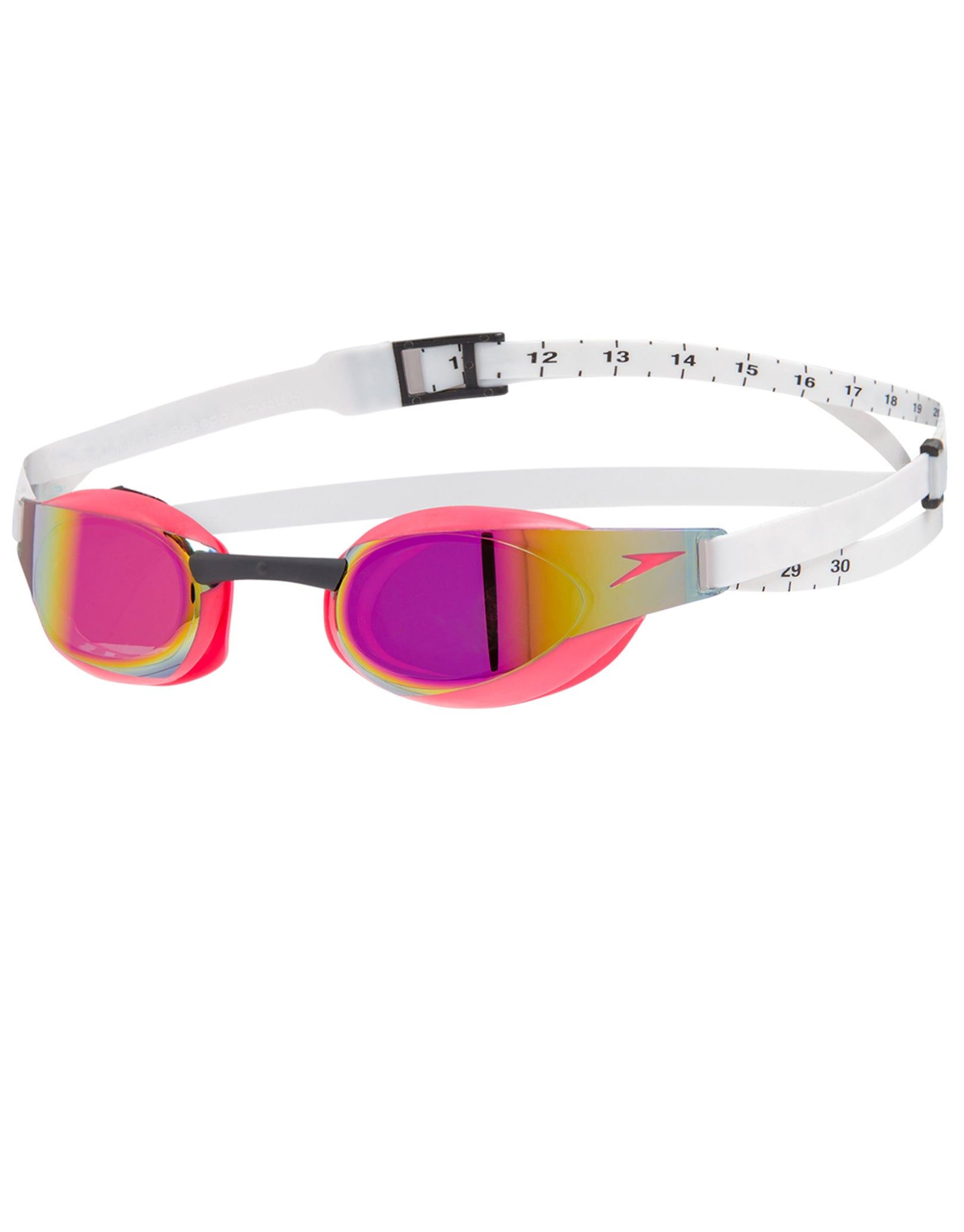 c9d02d71060 Speedo Fastskin Elite Mirror Goggle - Psycho Red and White