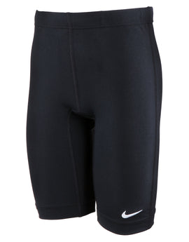 Nike Boys Poly Core Solid Jammer - Black