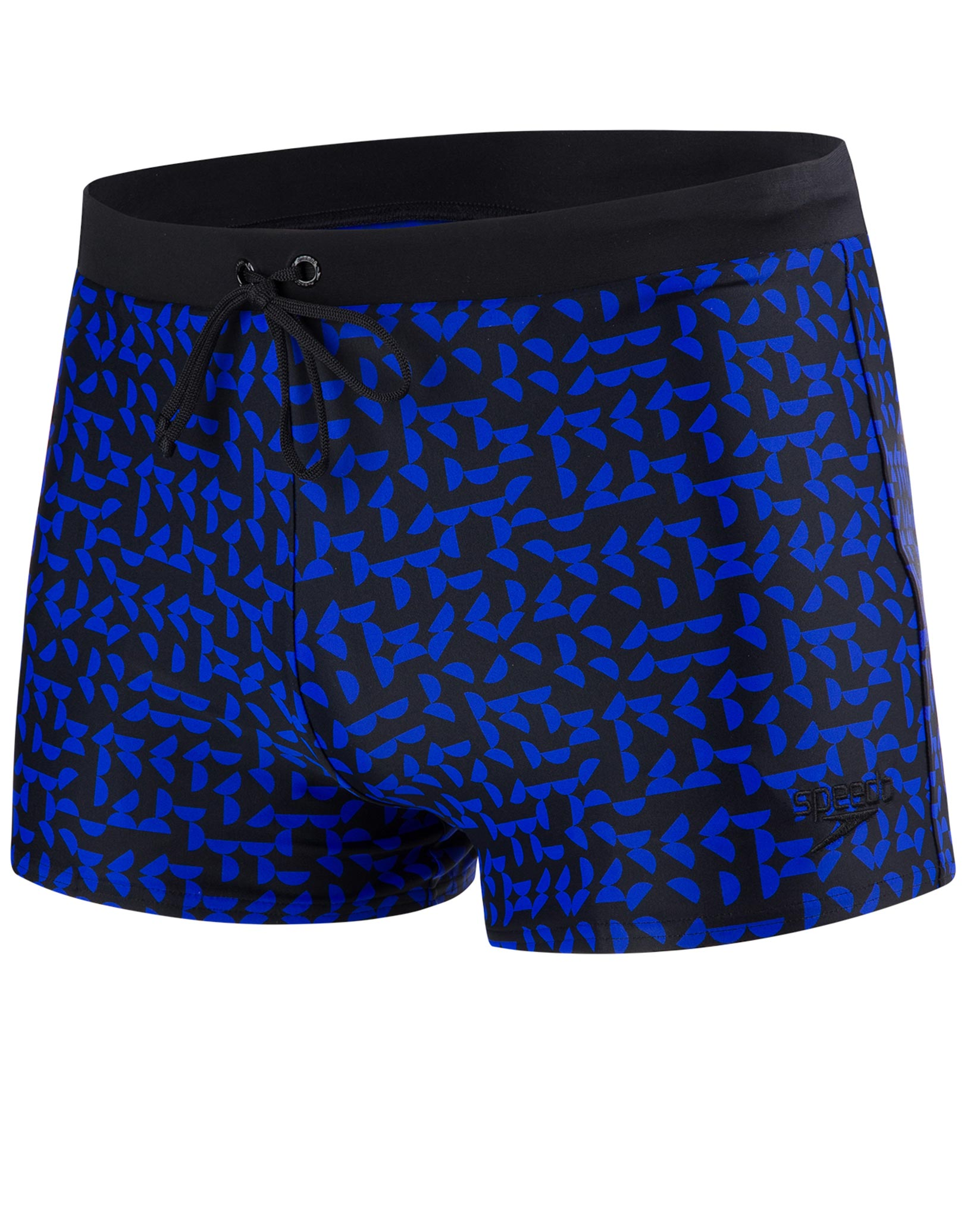 speedo vamilton swimming trunk - black and chroma blue
