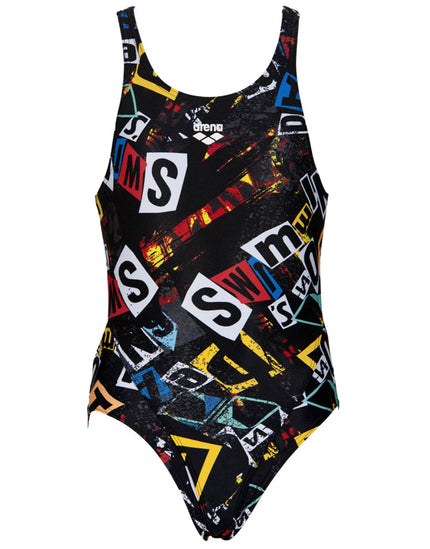 Arena Girls Rowdy Tech Back Swimsuit