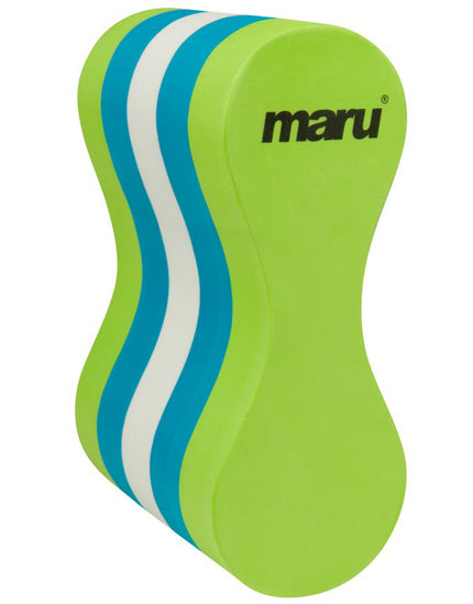 Maru Pull Buoy - Lime/Blue/White