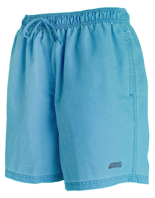 Zoggs Mosman Washed 16 inch Short - Turquoise